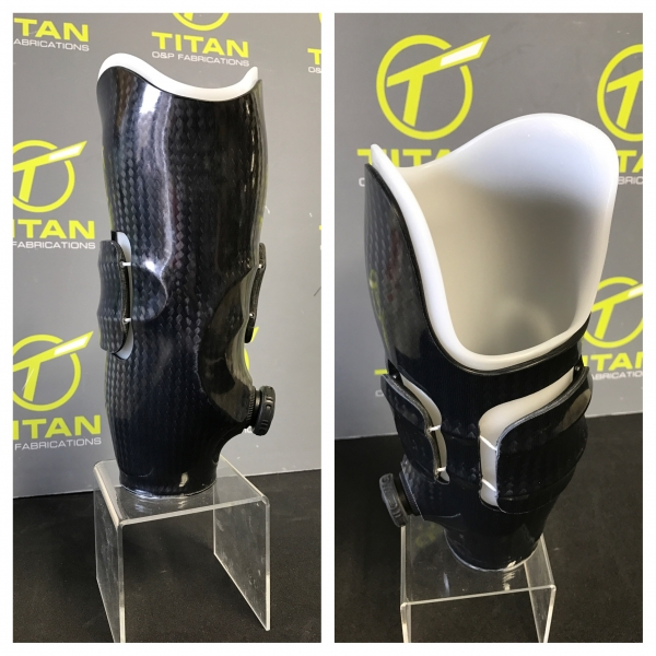 Transtibial Multi Panel with Click Medical Revo Fit